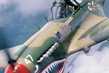 US fighterplanes WW II