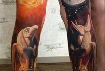 Tattoo and art