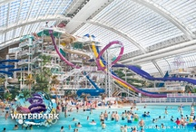 Attractions @WEM  / West Edmonton Mall is home to 10 exciting attractions including: Galaxyland, World Waterpark, Ed's Rec Room, Sea Life Caverns, Sea Lions' Rock, Ice Palace, Putt 'n' Glow, Professor WEM's Adventure Golf, Deep Sea Derby, and Ropes Quest.    / by West Edmonton Mall