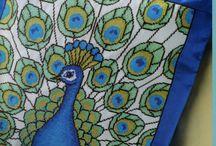 X-stitch Peacock