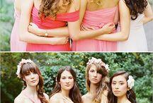 wedding: bridesmaid posing