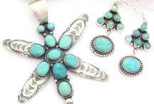 Carico Lake Turquoise Jewelry / Carico Lake Turquoise Jewelry | Four Corners USA OnLine | Native American Jewelry Store / by Four Corners USA OnLine