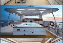 Luxury yachts