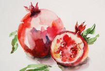 Food.Fruits.Pomegranate