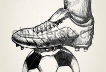 dibujos de fútbol ⚽️