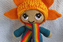 Star doll crochet