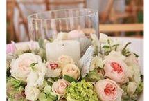 dekoracje na stół kwiatowe