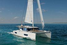 Fountaine Pajot Lucia 40 Catamaran Yacht Charter Croatia / #Catamaran #yacht #charter #Croatia on board #Fountaine Pajot Lucia 40 and visit Croatia islands with Catamaran Charter Croatia, Cabins 4, Berths 8