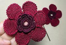 Flores em tricot no YouTube