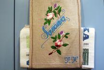 Embroidery (Kirjonta) / käsinkirjontamalleja  (handmade models)