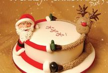 navidad cakes