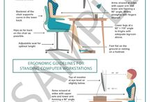 Shop Enabling Access Inc / Ergonomic Guidelines and Stretching Posters