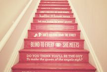 staircases / onwards and upwards / by anna | farfromtheweddingcrowd
