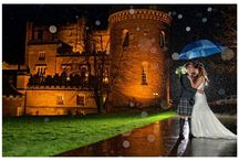 Dalhousie Castle Weddings / We have a dedicated events team ready to assist and can offer a selection of unique extras for your wedding which include: Our Castle Pipe Sergeant, Owl Ring Delivery or Meet & Greet, Outdoor Ceremonies, Castle Chapel, Award Winning Food, Dalhousie Castle Menus, Place Settings & Table Plan, and our Honeymoon Suite.