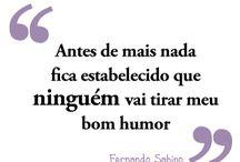 Bom humor / Frases referentes ao humor.