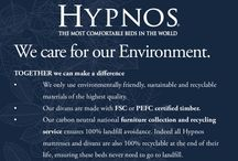 """Hypnos Mattresses / Handmade in the USA, this brand originated in England and carries the official Royal Warrant. """"The Most Comfortable Mattress in the World"""" is their slogan, and they are definitely on to something"""