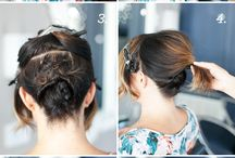 Updos for Short Dos / by Melissa Carman