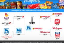 Grocery Price Comparisons / Comparing prices on your favorites snacks and grocery lists across stores. / by StockUp
