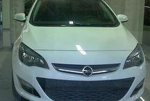 Opel Astra / Immagini della Opel Astra nel salone
