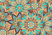 Mandala seamless pattern / Ornate floral seamless texture, endless pattern with vintage mandala elements.