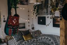 Hippy bedroom