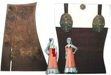 Female viking clothes / Reconstruction of femaile viking clothes based on arhcaeological finds.