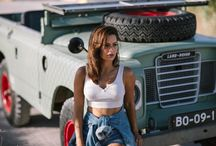 Land Rover & Girls