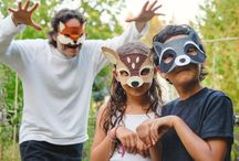 35 Felt Woodland Masks