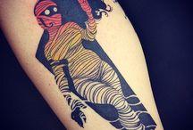 Mummy tattoo