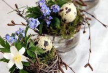 Jarní a velikonoční dekorace