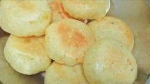 pão  de queijo cm batata