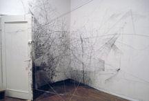 spatial drawing / sculpture