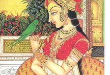 Rajput, Mughal & Persian Art