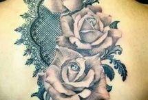 Pizzo Tatuaggi Rosa