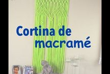 Cortina macramé