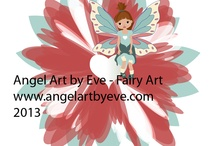 Fairy Art / Newest fairy can be found on tshirts, glassware, household goods, and computer items etc.  http://www.cafepress.com/angels2004/9686493