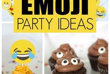 Emoji theme party