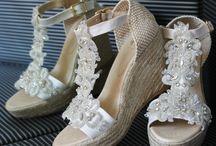 zapatos nupcial