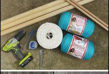 Urob si sám / Nápady ako si zhotoviť hojdací nástroj sama alebo tipy pre manžela ako na to:-)