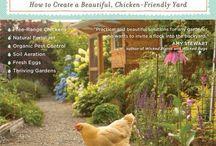 Tuinideeën / Ideetjes voor in de tuin, bloemen, planten, hekwerken