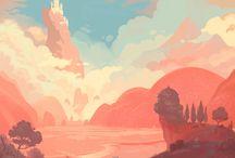 Inspiration - Game Art / Inspiring game art