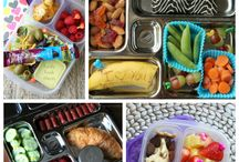 Lunch Box and Snack ideas / Healthy school lunches and kid-friendly snacks