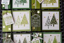 Stampin up Karten Weihnachten