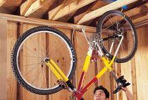 bicykel zavesit