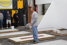 Brickform Training / Every year, we host several training sessions for contractors, distributors, architects, and anyone else who is interested in learning about the full portfolio of Brickform products. Training session are held in the Spring and Fall at both out Illinois and California locations. Visit http://www.solomoncolors.com/Events/?catid=3 or http://www.brickform.com/events.aspx?type=1 for details.