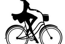 Girl on bike. / by ChickKa Chick