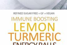 healthy lemon balls
