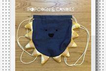popcornandcandies backpacks / ZAINETTI PER BAMBINI