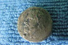 Antique Original Greek Macedonian Coin