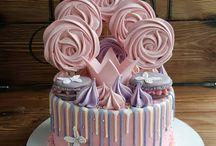 Безе оформление торта